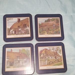 Pimpernel English Cottages Collectable Coasters